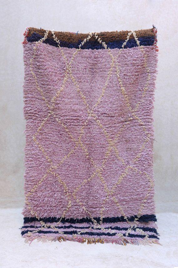 Vintage Moroccan rug from Pink Rug Co. https://www.etsy.com/shop/pinkrugco?ref=hdr_shop_menu