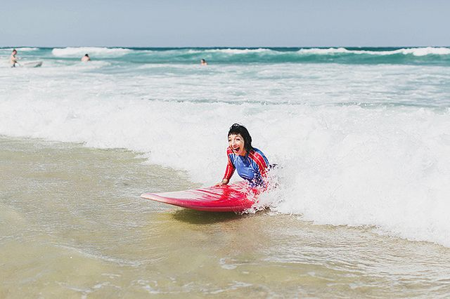 Surf On, Sister! Hanging Ten In Surfer's Paradise