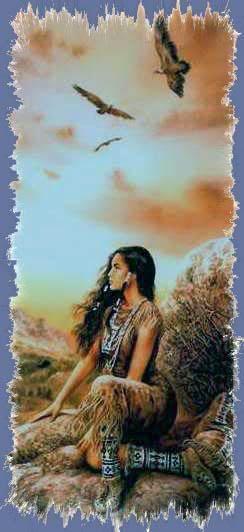 A me e…a voi:Indiani d'America. - solitudine