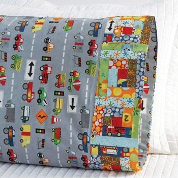 Fabric: Ten Little Things by Jenn Ski for Moda Fabrics. Pillowcase Pattern 22. & 42 best One Million Pillowcase Challenge images on Pinterest ... pillowsntoast.com