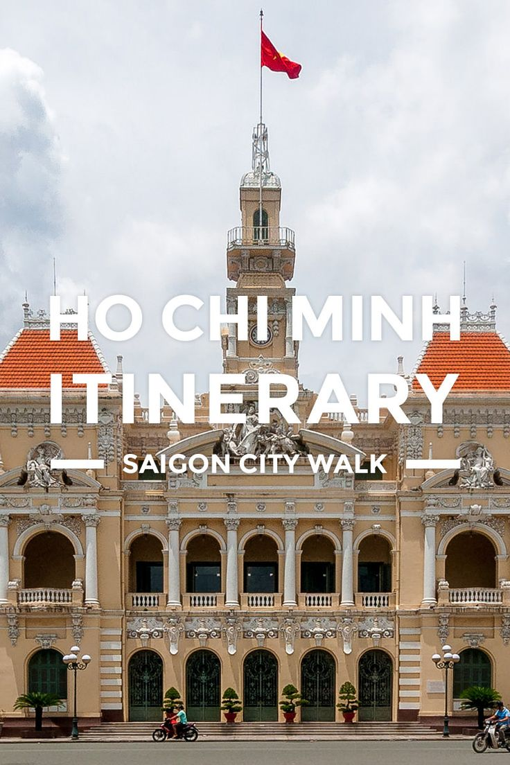 Ho Chi Minh Itinerary – 1 Day Saigon Budget Trip https://www.detourista.com/guide/ho-chi-minh-itinerary/ Plan a budget trip & itinerary in Ho Chi Minh, Vietnam. This one day DIY guide takes you on a walk around Saigon's best historical sites and tourist spots.