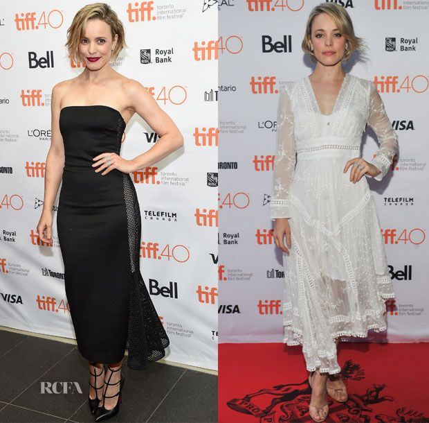 Rachel McAdams In Cushnie et Ochs  & Zimmermann – 'Every Thing Will Be Fine' & Jason Reitman's Live Read Toronto International Film Festival Photocalls