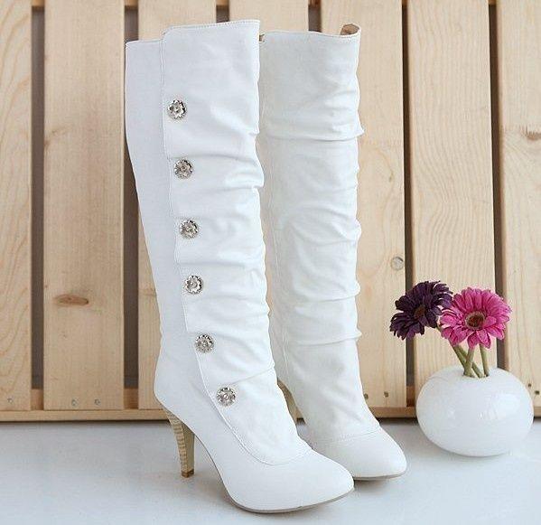 Winter Wedding Shoes Dress