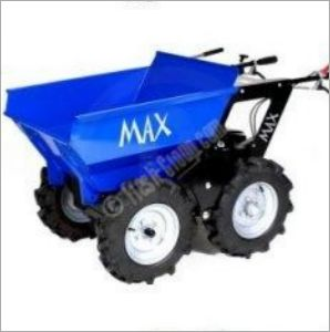 Muck truck mini dumpers or power barrows for builders and landscapers. The motorised muck truck range of powered wheelbarrows are great for moving building materials in tight spaces. The muck truck and max dumpers with the full range of accessories are ideal for skip loading, moving dirt, gravel, paving slabs, concrete and wet cement straight from the belle cement mixer.