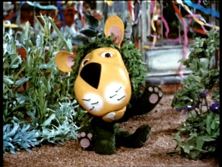 Parsley the Lion - my favorite childhood character