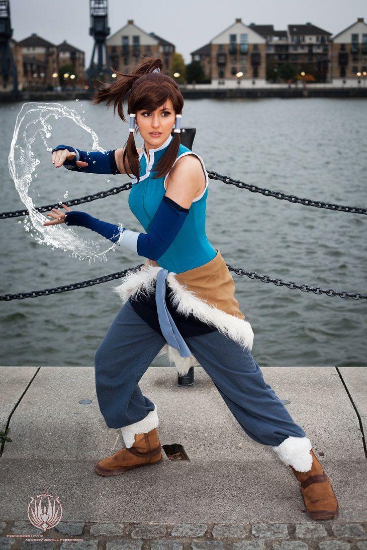 Korra, from Avatar: The Legend of Korra.