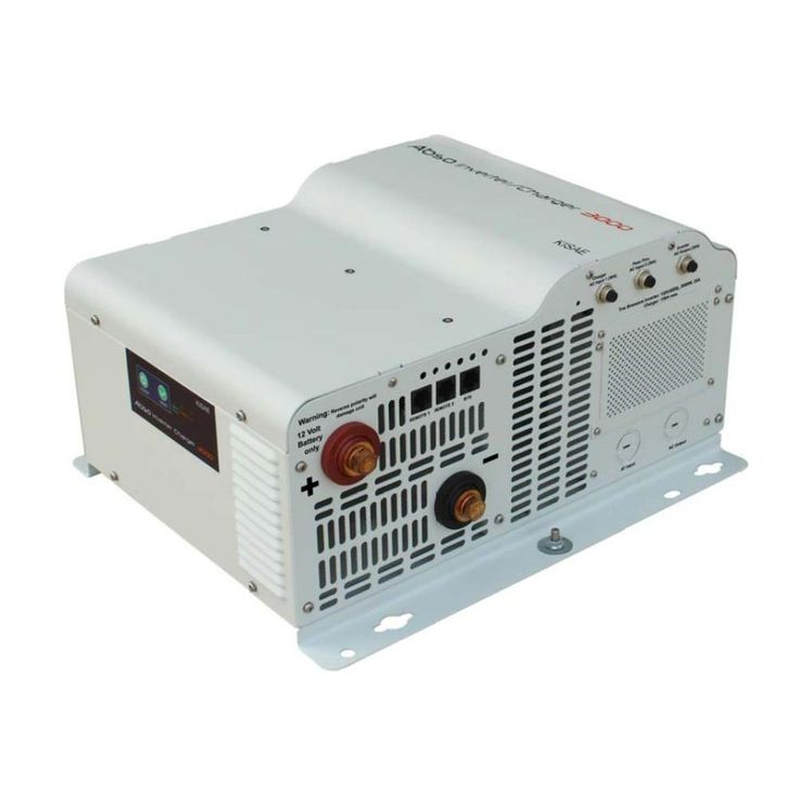 Kisae Abso 3 000 Watt Sine Wave Inverter With 150 Amp Battery Charger Ic1230150 Charger Sine Wave Solar Panel Kits