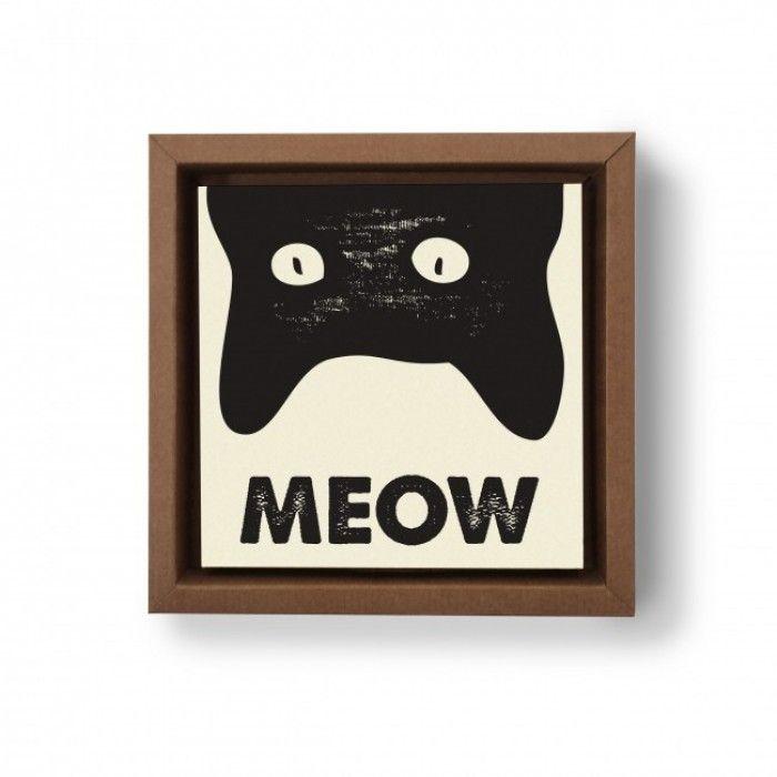 Gravura Meow