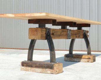 RESTAURANT TABLE: Industrial Farmhouse by IndustrialFarmHouse