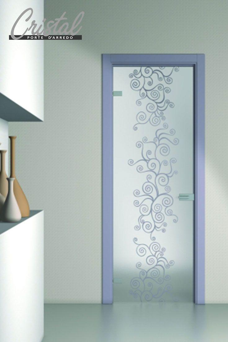 Il vetro decorato nelle porte scorrevoli e a battente è un prezioso ...