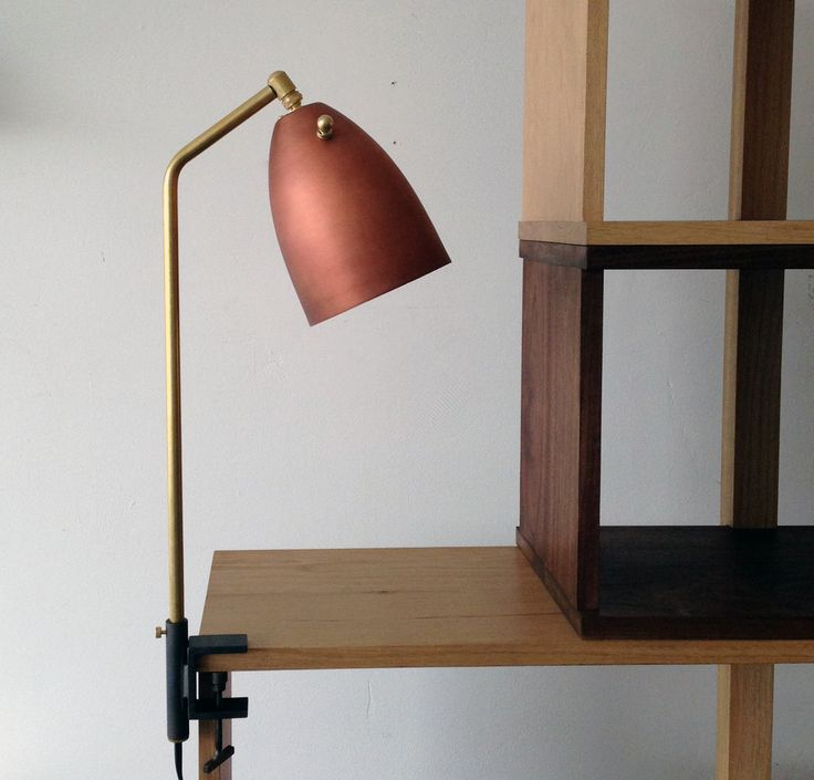 A Copper Desk Lamp That Gabriel Abraham Designed For The Ace Hotel In  Downtown Los Angeles And That Is Available Through Atelier De Troupe. Amazing Design