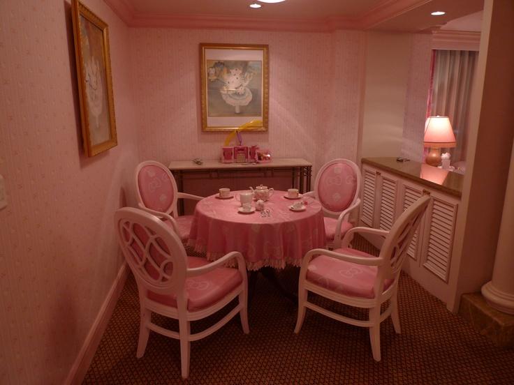 Hello Kitty Dining Room | Hello Kitty Kitchen | Pinterest