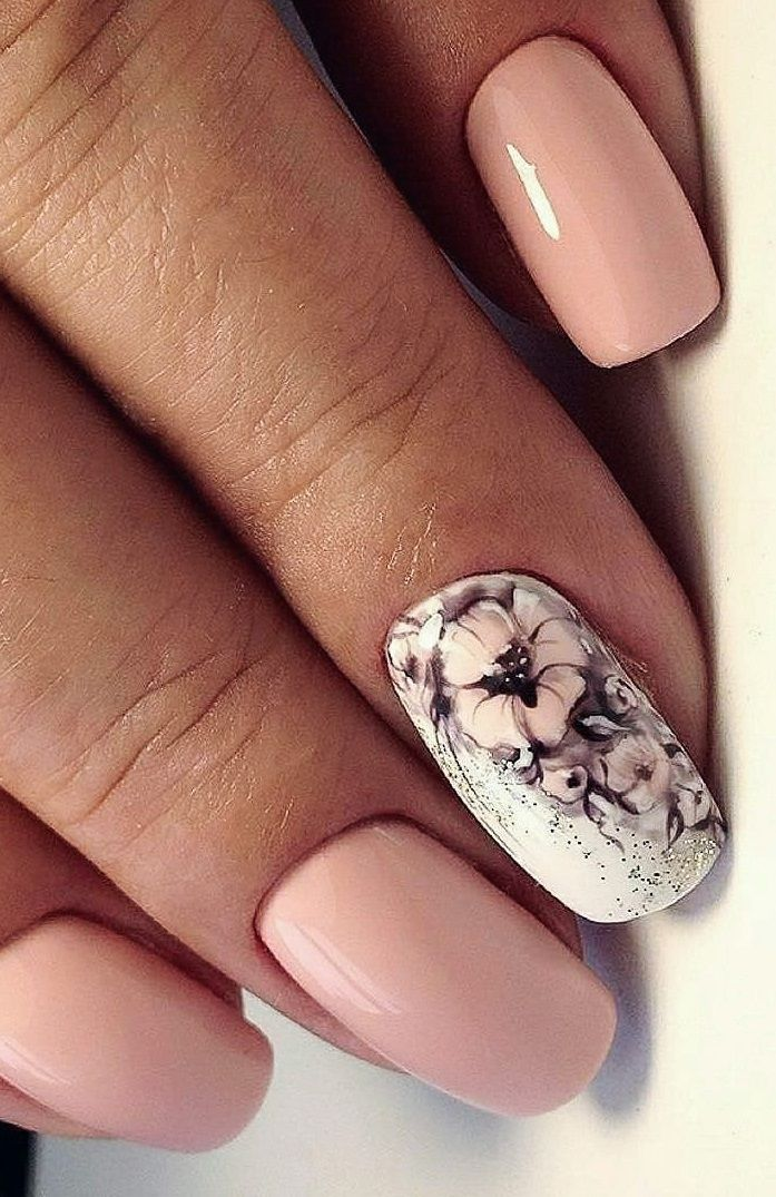 30 Newest Short Nails Art Designs To Try In 2020 In 2020 Cool Nail Designs Popular Nail Designs Short Nails Art