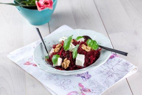 Salada de beterraba  Nutrição & Bem-Estar  Saúde à Mesa nº 100 - Julho 2014 www.teleculinaria.pt