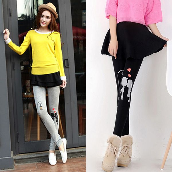 Streetlights & Lovers Printed Maternity Leggings For Summer Cute Pregnancy Pants For Pregnant Women Clothes