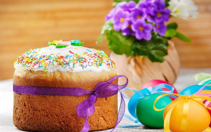 spring, яйца, кулич, flowers, весна, eggs, пасха, easter, фиалки