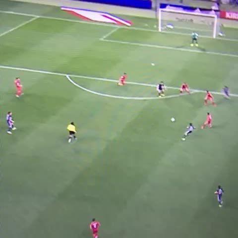 Shinji Okazaki back at it. (Goal against Afghanistan for Japan.)