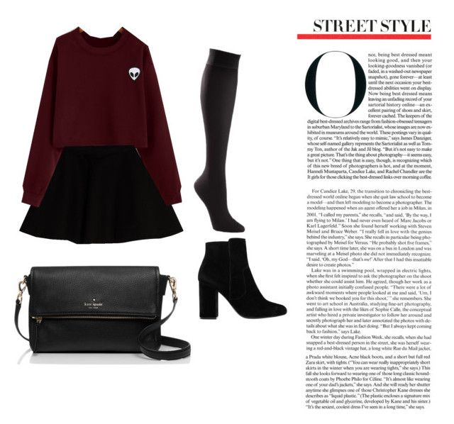 """Autumn Street Style"" by firyall on Polyvore featuring Max&Co., TravelSmith, MANGO and Kate Spade"