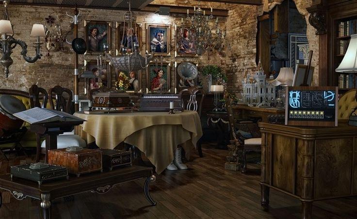 Vintage Designer Studios http://www.homeadore.com/2012/11/22/vintage-designer-studios/