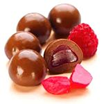 Chocolate Raspberries 200g