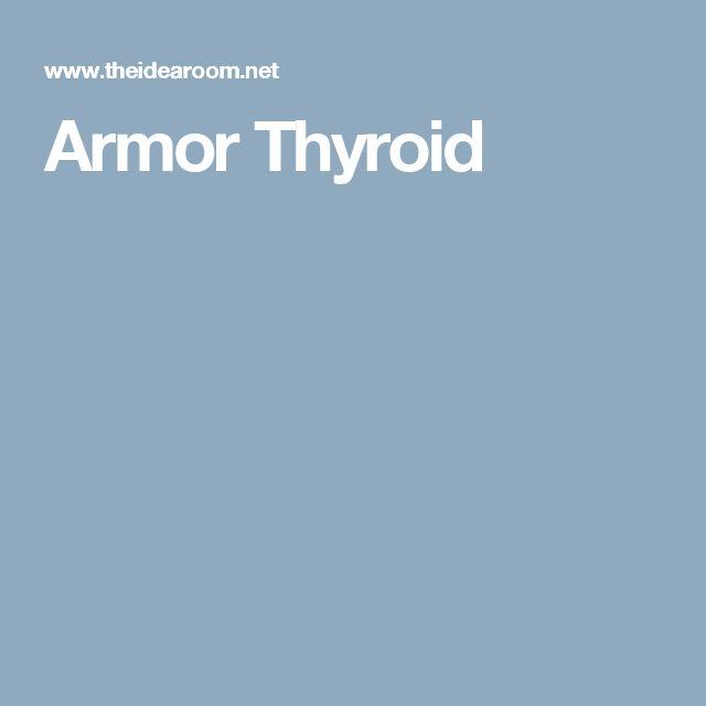 Armor Thyroid