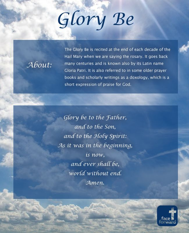 Related PostsThe Our FatherThe Apostles' Creed InfographicHail MaryThe Basic Forms of PrayerBeatitudes Infographic