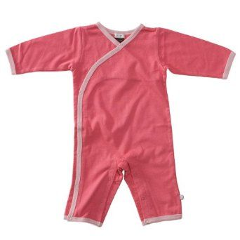 Baby Soy All-Natural Kimono Onepiece Color: Blossom Size: 0-3 Months Babysoy. $19.95