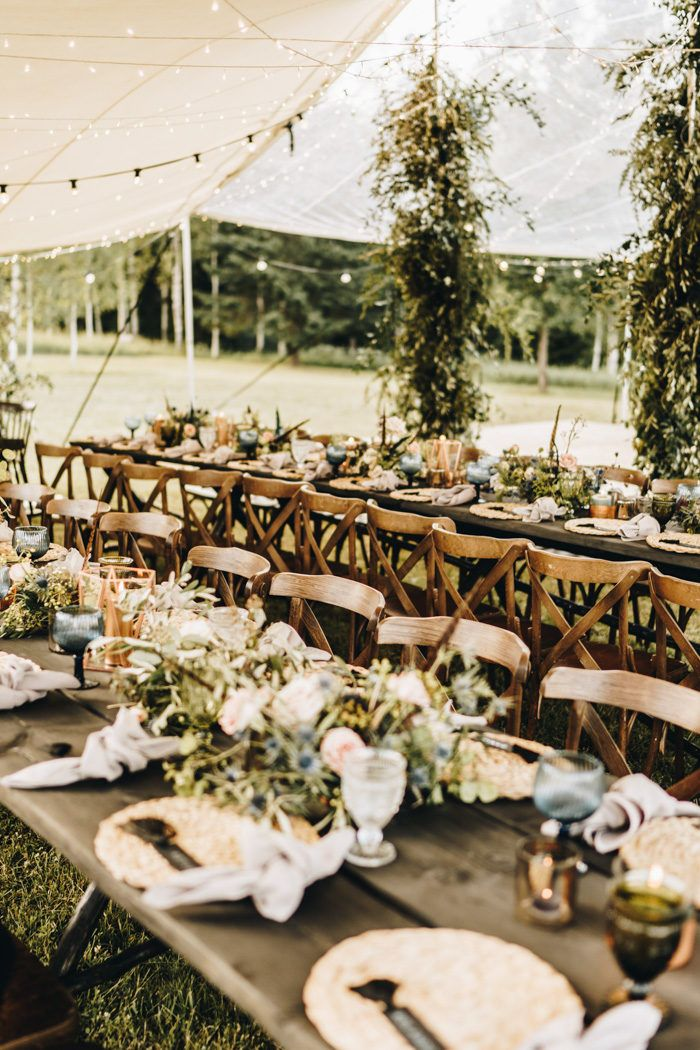 This Truly Bohemian Latvia Wedding At House Brikumi Was Planned Around The Solstice Junebug Weddings Rustic Wedding Reception Outdoor Country Wedding Junebug Weddings