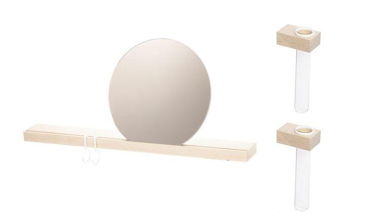 MONOQI | 50 cm Surface Shelf - Mpl/Rose