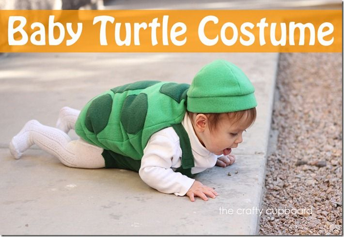 Haha! This makes me laugh. Jane should be a turtle this year since she still isn't walking!