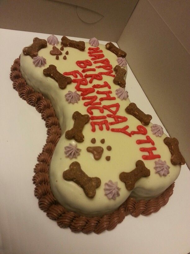 Dog Shaped Cake Images : Our 7