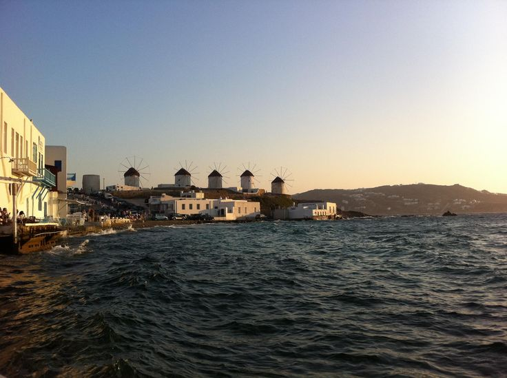 The famous windmills of #Mykonos! #VarietyCruises  Photo by: @Wendalina Karagianni