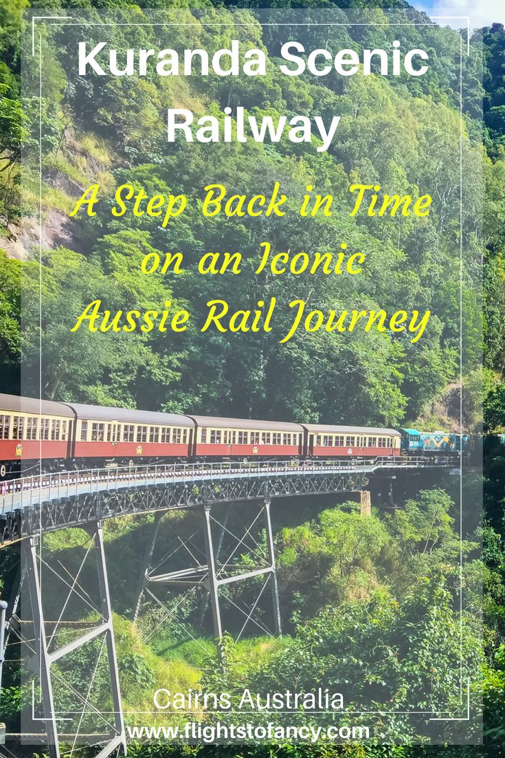 One of my favourite things to do in Cairns is to spend a morning on the Kuranda Scenic Railway Gold Class. This is one of the absolute best ways to explore Australia's Wet Tropics World Heritage Area in Tropical North Queensland. Did I mention it comes with champagne?