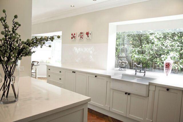 Dulux whisper white kitchen design pinterest wall colors for Kitchen paint colors dulux