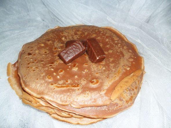 Naleśniki czekoladowe, naleśniki czekoladowe prosty przepis, naleśniki czekoladowe - przepis