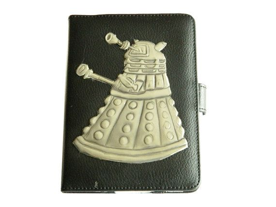Leather Kindle Case Dalek Dr Who by Loutul on Etsy, £29.00
