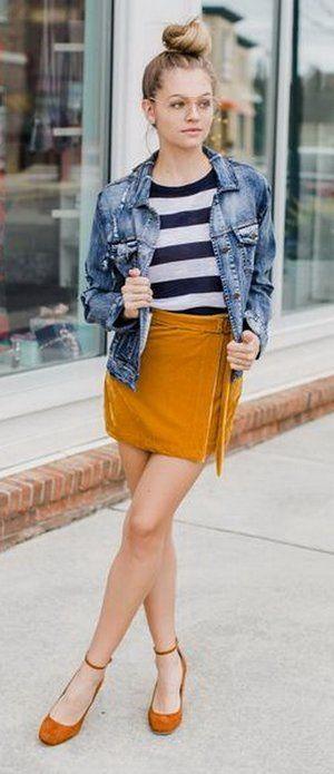 Honeypot Velvet Skirt