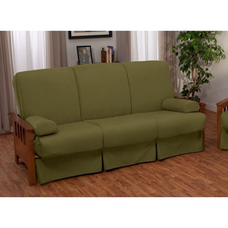 ***Tthis pillow-top sofa bed is the ideal if you're having friends stay over. It comes upholstered in one of four colors, so it's easier to find one that matches your decor, and it has a replaceable cover set if you want to change your theme.