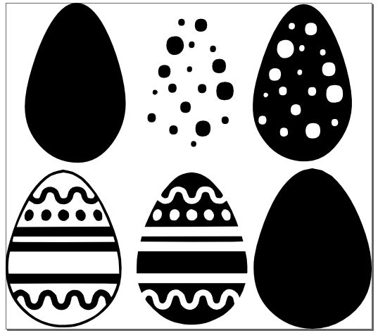 Download FREE SVG File - More Easter Eggs (With images) | Free svg