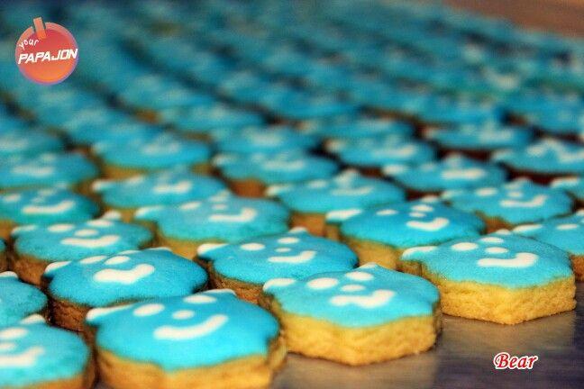 Blue Devil #royalicing #papajonfood