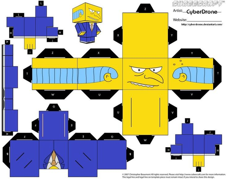 Cubee - Mr. Burns by CyberDrone.deviantart.com on @deviantART