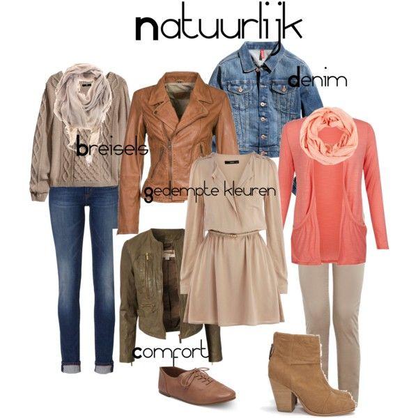 Natuurlijke kledingstijl