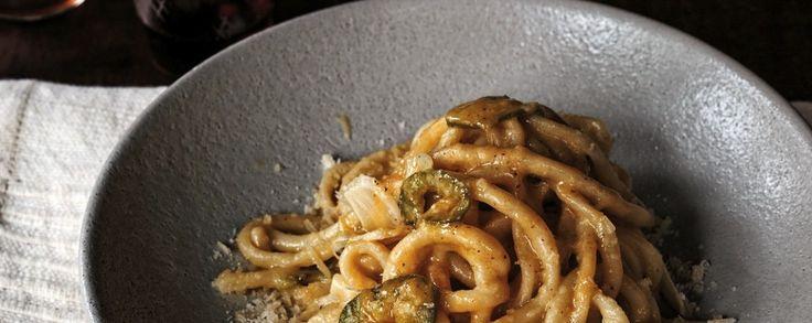 http://munchies.vice.com/recipes/bucatini-with-almond-pesto?utm_source=munchiesfbuk