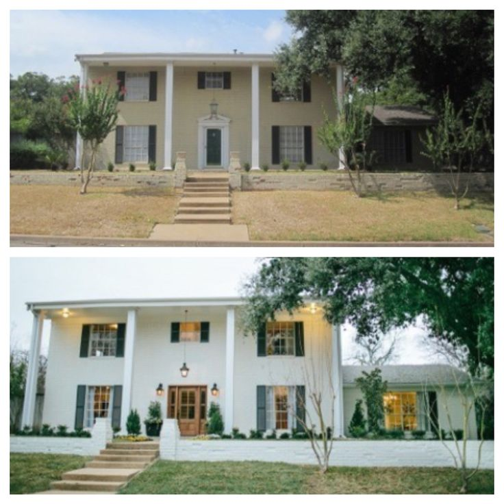 Before Amp After Fixer Upper My Hgtv In 2019 Home