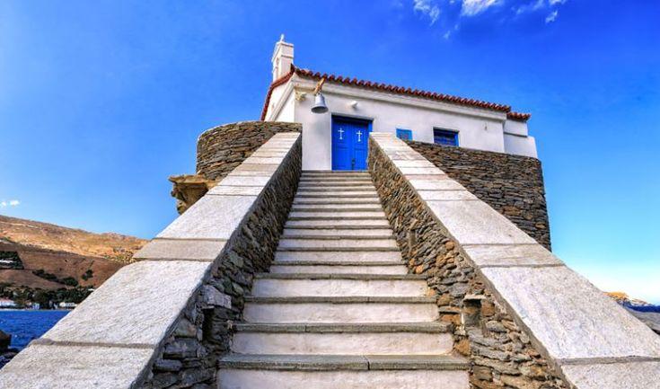 Panagia Thalassini church, Andros island, Greece