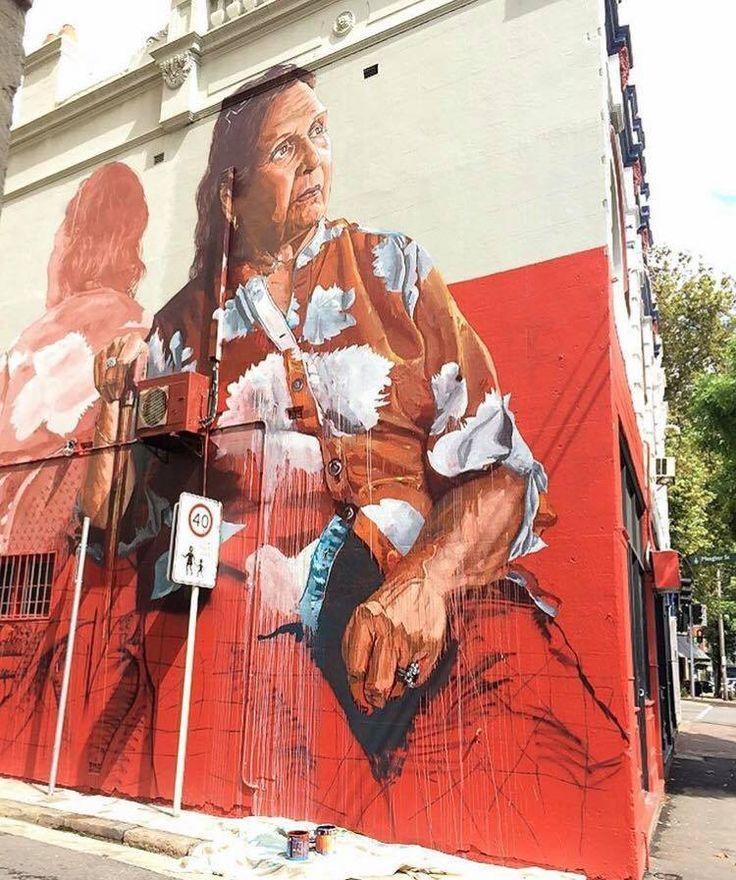 Work in progress in Sydney by Fintan Magee #poppingupdoc #popsurrealism #pop #popart #streetart #Graffiti #artederua #graffiti #art #artwork #contemporaryart #modernart #realcreativeart #watercolor #urbanart #cores #colores #colors #sprayart #intervention #urbanintervention #graffitiwall #kunst #photooftheday #street #graffitiart #lowbrow #lowbrowart   http://bitsmag.com.br/category/vlog/poppingup