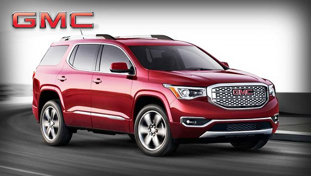 2018 Gmc Acadia Versatile Midsize Family Suv With V6 Engine