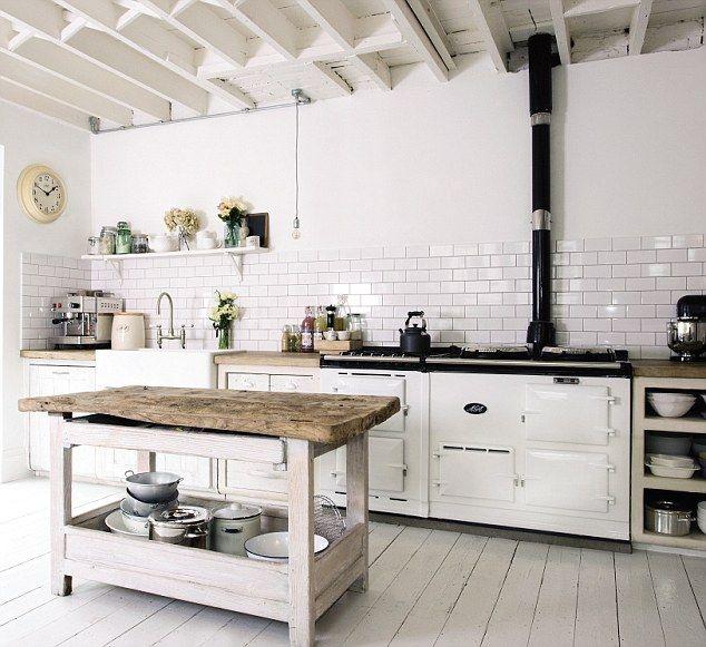 aga in contemporary kitchen - Google Search