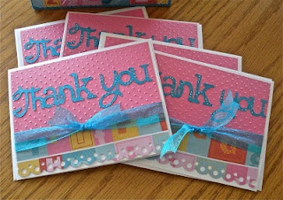 I like this one. Thank you from Sweethearts cricut cartridge and also the Swiss Dots cuttlebug folder.