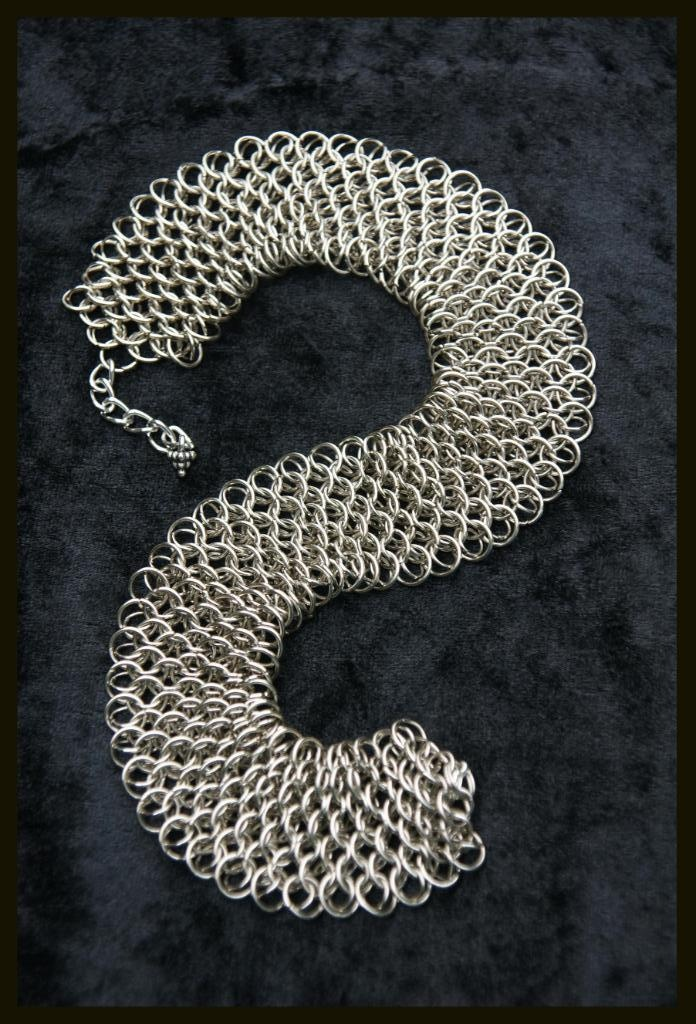 Dragon Scale Choker http://www.mariannedepierres.com/store-2/sundry/